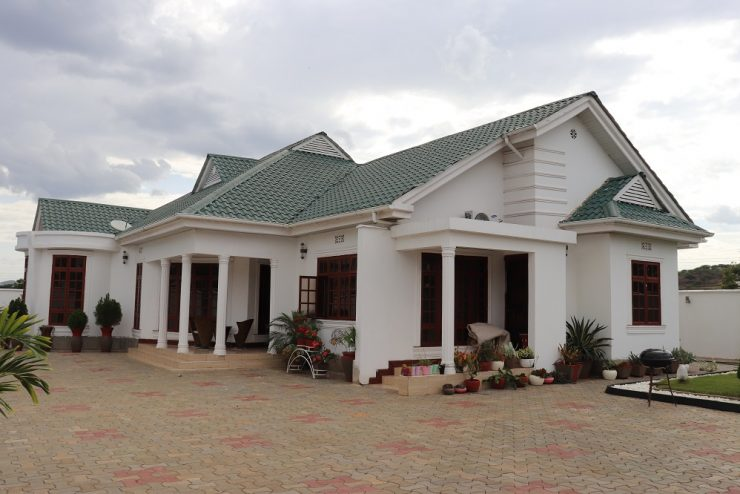 Behind Arusha Coffee Lodge