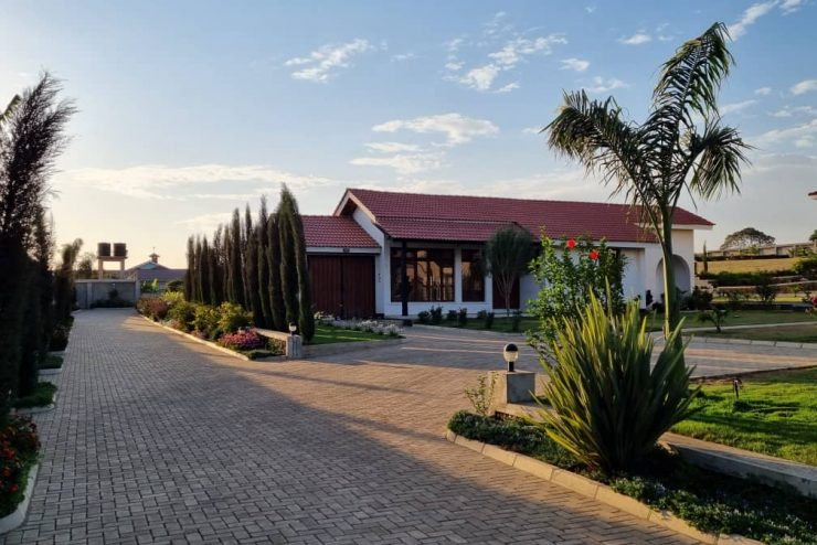 A fully furnished 03 bedroom house